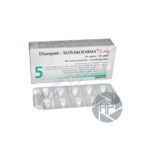 Diazepam 5mg pret