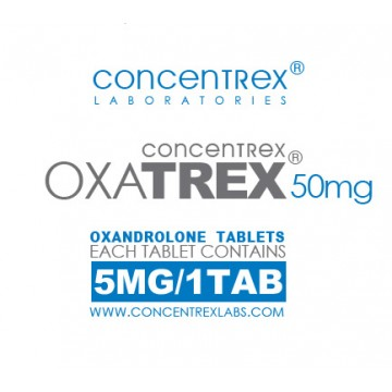OxaTREX 5mg 100 Tabs by Concentrex