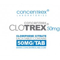 CloTREX 50mg 100 Tabs by Concentrex