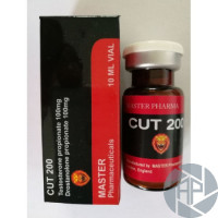 CUT-200 (Testosterone propionate 100mg+ Drostanolone propionate 100mg )