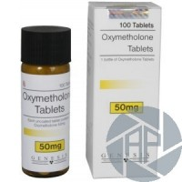 Oxymetholone Tablets Genesis (50 mg/tab) 100 tabs