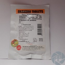 Oxandro Tablets British Dispensary (10 mg/tab) 100 tabs