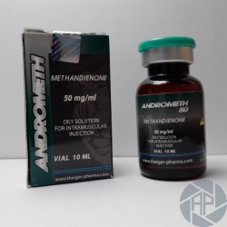 Andrometh 50, Methandienone, Thaiger Pharma, 50 mg/ml, 10 ml