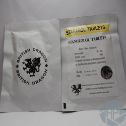 Stanabol 10mg x 100 tablets (British Dragon)