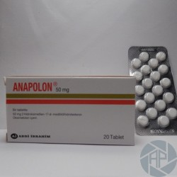ANAPOLON (ABDI IBRAHIM - Turkey) 40 tablets x 50mg