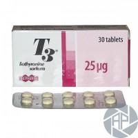 T3 Cytomel Uni-Pharma 30tabs/25mcg