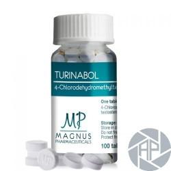 TURINABOL - 4-Chlorodehydromethyltestosterone 10mg - Magnus