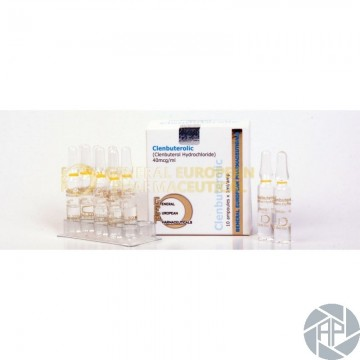 Clenbuterolic 10amp x 1ml 40mcg