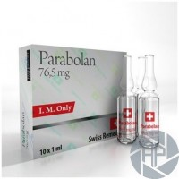Parabolan Trenbolone 76,5mg Swiss Remedies