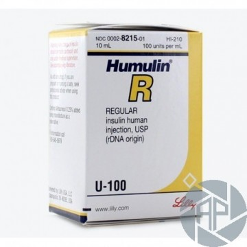 Humulin R 100iu/ML 25€