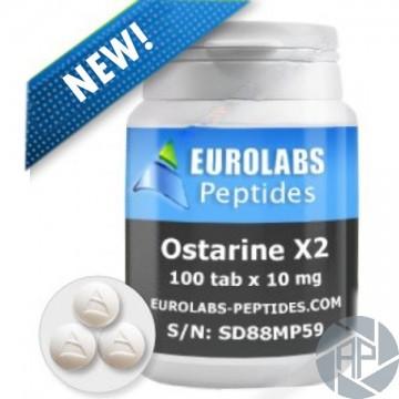 OSTARINE X2 (SARM MK-2866) - 10 MG, 100 TAB